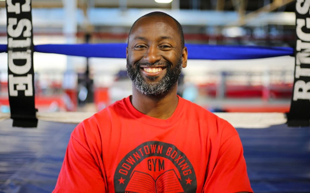 """Books Before Boxing"": Help Detroit's own KHALI SWEENEY, founder of Downtown Boxing Gym Youth Program, become CNN HERO of The Year! (Voting ends Tues, Dec. 12th, 2017)"