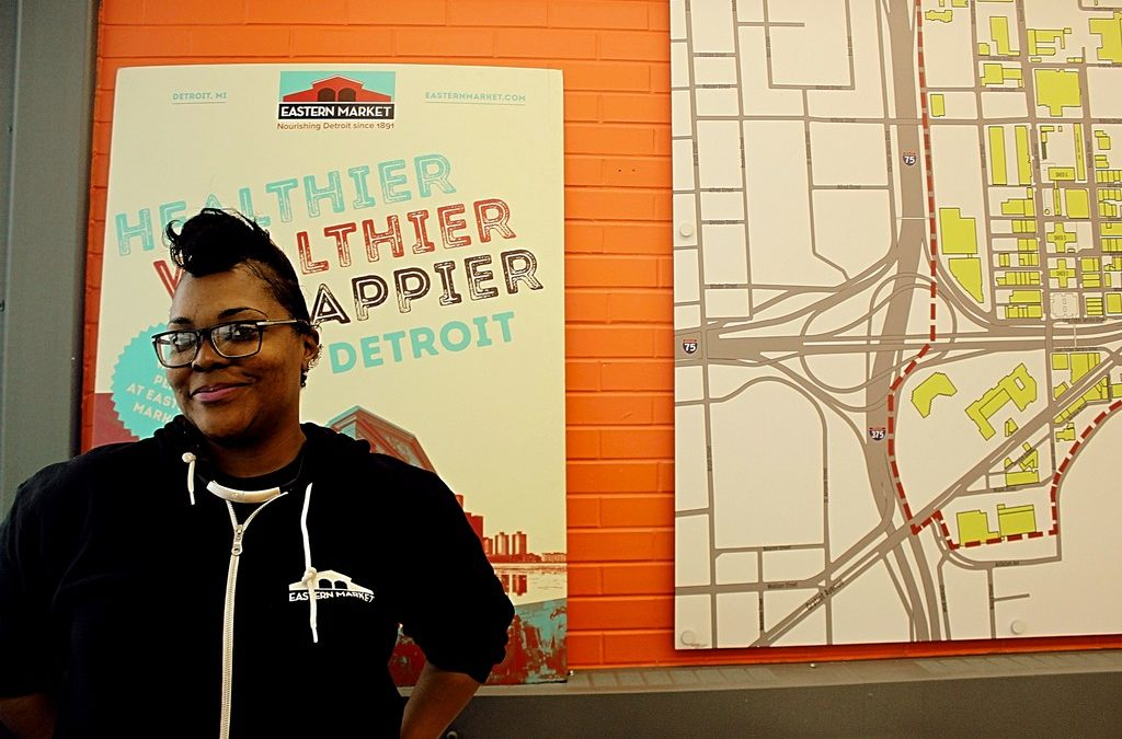 Exclusive Interview: Detroit's Eastern Market Manager LONNI THOMAS!